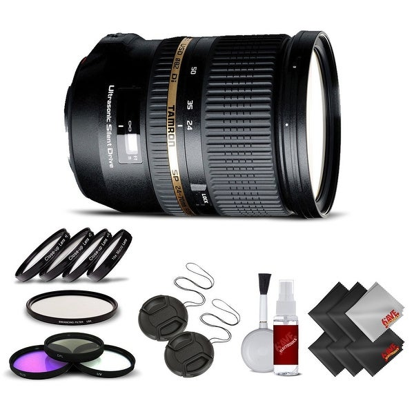 Tamron SP 24-70mm f/2.8 Di USD Lens for Sony International Version (No Warranty) Base Kit - Black