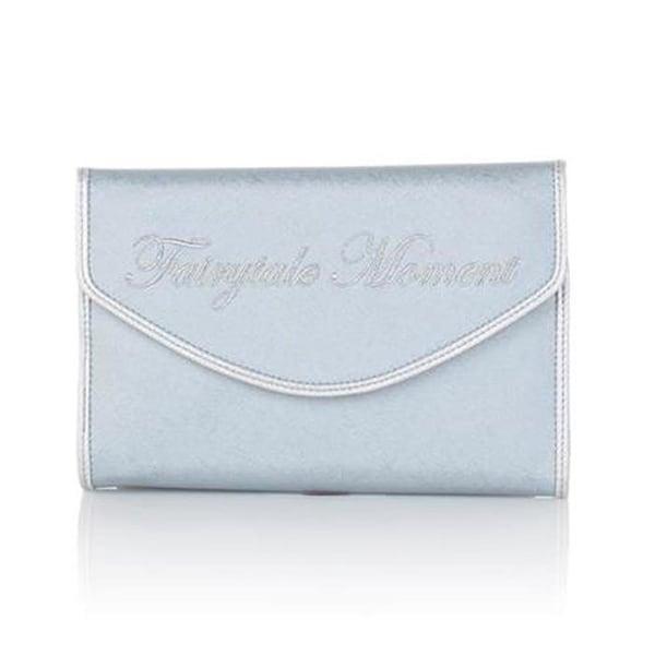 8477dfdae8ac SNOB Essentials Disney Cinderella Fairytale Moment Clutch Jewelry Bag  Metallic Blue Handbag Purse Small Designer Womens