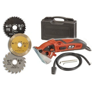 Rotorazer Saw with 3 Quick Change Blade and Dust Extraction System