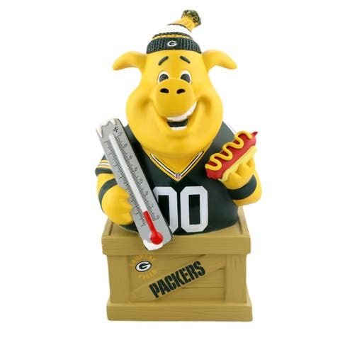 Green Bay Packers Caricature Piggy Bank - Multi
