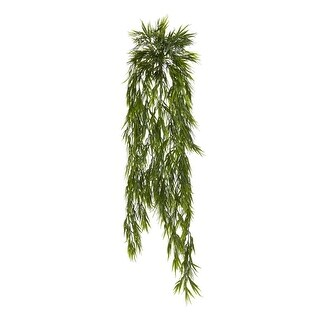 Nearly Natural Home Decor 43 Mini Bamboo Hanging Bush - Set Of 2