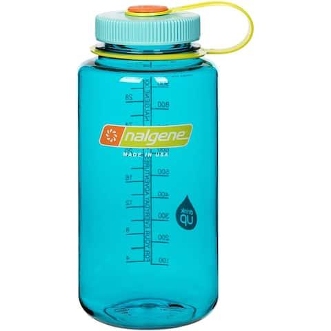 Nalgene 32 oz. Wide Mouth Tritan Water Bottle - Cerulean - 32 oz.