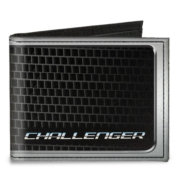 Challenger Bold Grille Canvas Bi Fold Wallet One Size - One Size Fits most