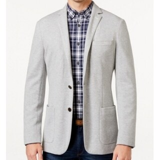Michael Kors NEW Gray Mens Size 40R Double-Knit Two Button Sport Coat