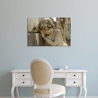 Easy Art Prints Inger Hogstrom's 'Angel Decorating A Vault' Premium Canvas Art