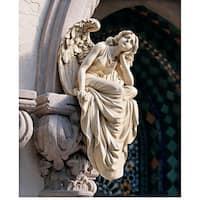 Design Toscano Resting Grace Sitting Angel Sculpture: Large