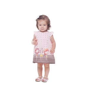 Baby Girl Dress Polka Dot Sun Dress Summer Clothing Pulla Bulla 3-12 Months