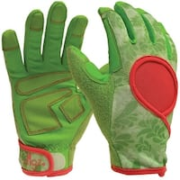 Digz 7652-23 Women's Signature Garden Gloves, Medium, Green
