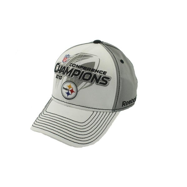 Reebok Mens Steelers Ball Cap Conference Champions 2010 - o/s