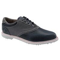 premium selection 54f86 48331 Ashworth Mens Leucadia Tour OnixGraphite Golf Shoes G54333