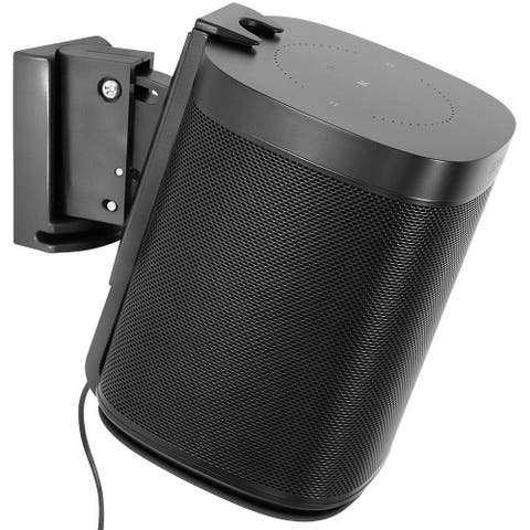 Mount-It! Adjustable Speaker Wall Mount for SONOS One, One SL and Play:1