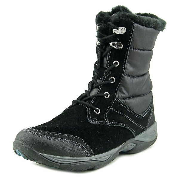 Easy Spirit Erle W Round Toe Suede Snow Boot