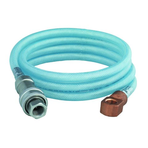 T and S Brass B-2395-02 8' Hose Assembly with Stainless Steel Quick Disconnect