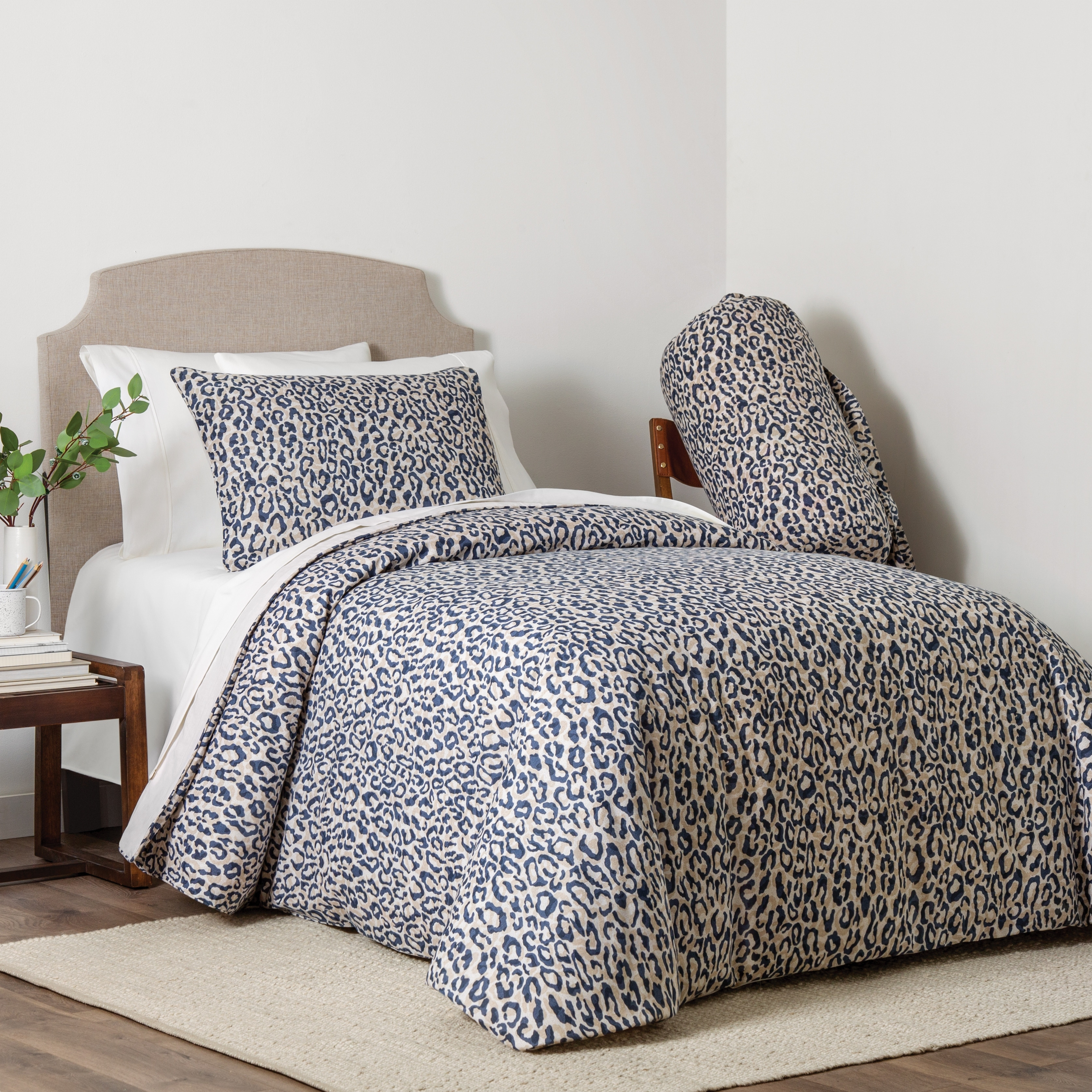 Kenley 4 Piece Animal Print Full Queen Comforter Set On Sale Overstock 31709151