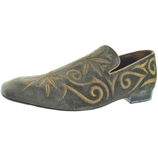 Donald J Pliner Palazo Men's Velvet Loafer Dress Shoe