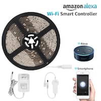 16.4ft Led Strip Light Compatible with Alexa, Flexible Warm White 36W Lighting Kit