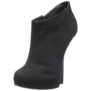 Giuseppe Zanotti Design Womens Suede Platforms Ankle Boots