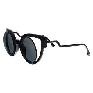 FENDI 0137/S CN 0NT2 Black Cat Eye Sunglasses - 49-28-140