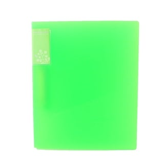 Staff Plastic Shell Metal Clip Papers Documents Organizer File Folder Green