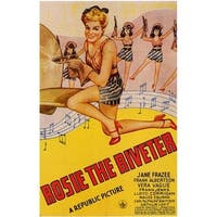 Rosie The Riveter Movie Poster Print, 27 x 40