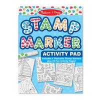Stamp Marker Activity Pad Blue