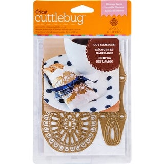 Cuttlebug A2 Cut & Emboss Die By Anna Griffin-Eleanor Laces