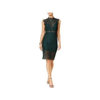 Bardot Womens Cocktail Dress Lace Sleeveless