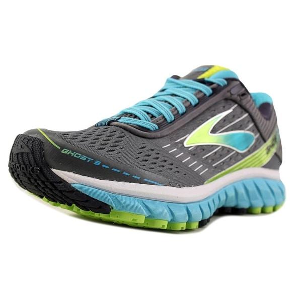 0071e65aea5 Shop Brooks Ghost 9 Women Round Toe Synthetic Gray Running Shoe ...