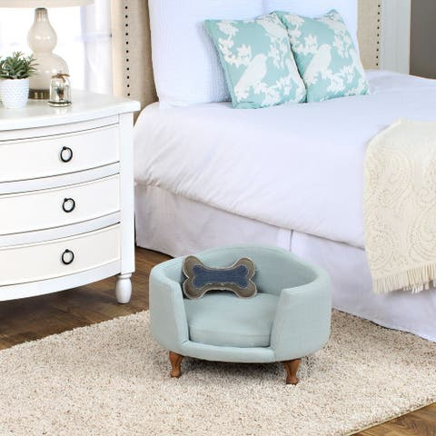 HomePop Dog Bed Mini Love Seat