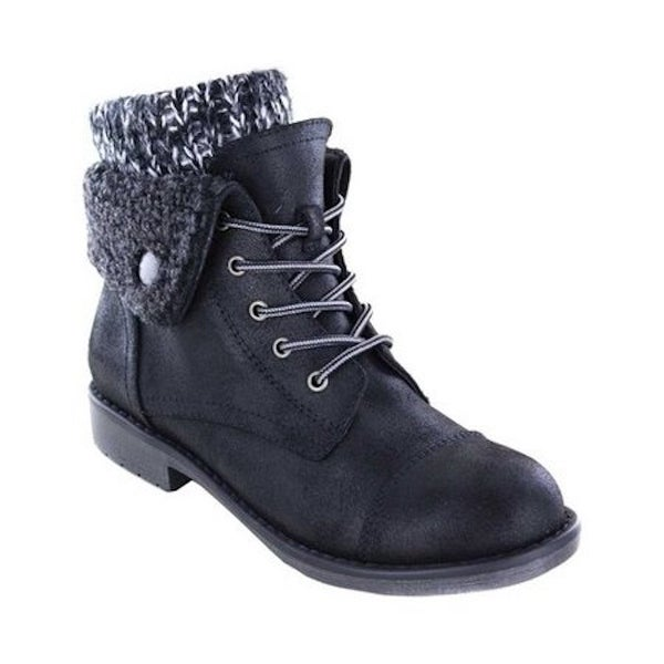 Cliffs by White Mountain Womens Decker Fabric Round Toe Ankle Fashion Boots. Opens flyout.