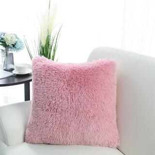 "18"" Home Decorative Faux Fur Throw Pillow Case Cushion Cover for Sofa"