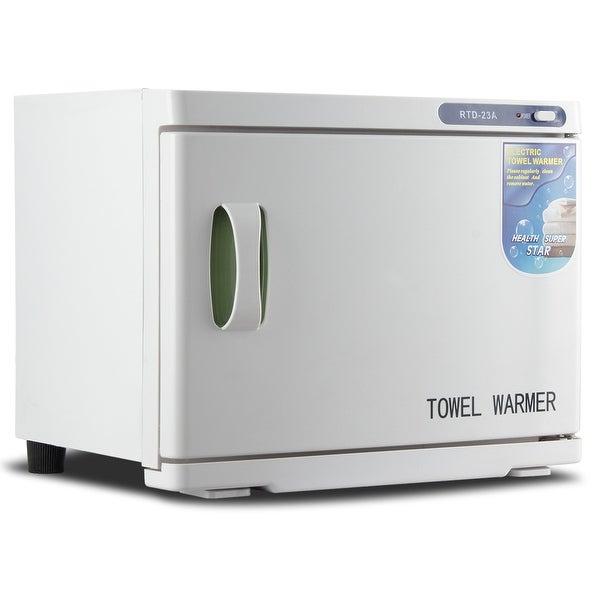 Bellavie 23L 2-in-1 Built-in UV Light Hot Facial Spa Towel Sterilizer Cabinet Salon Warmer Heater