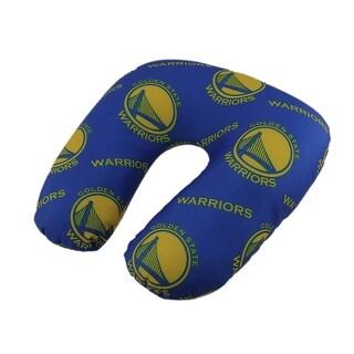 NBA Golden State Warriors Beaded Travel Neck Pillow - Blue