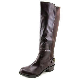 Style & Co Jayden Women  Round Toe Synthetic Brown Knee High Boot