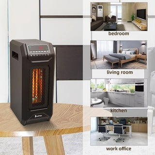 Link to Portable Electric Space Heater 1500W 12H Timer LED Remote Control for Room Office Similar Items in Heaters, Fans & AC