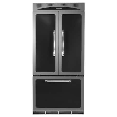 """Heartland HCFDR23 36"""" Wide 22.1 Cu. Ft. French Door Refrigerator with Humidity Controlled Crisper Drawer"""