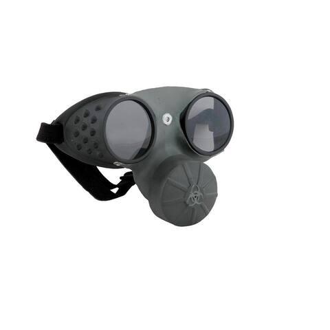 Steampunk Hazmat Costume Gas Mask Adult - Black
