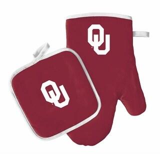 NCAA Oklahoma Sooners Oven Mitt And Pot Holder