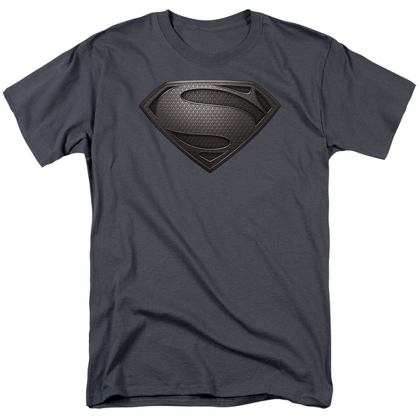 Man of Steel Superman Mos Desaturated Mens Short Sleeve Shirt