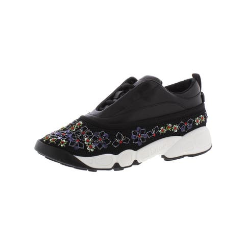 Dior Womens Fusion Fashion Sneakers Leather Low Top