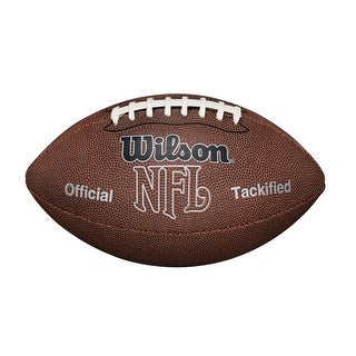 Wilson F1415 NFL MVP Football (Official Size) - Brown