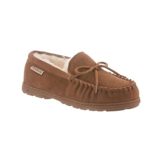 689cf99dbd37 Bearpaw Mens Luke Moccasin Slippers Suede Wool Lined. Quick View