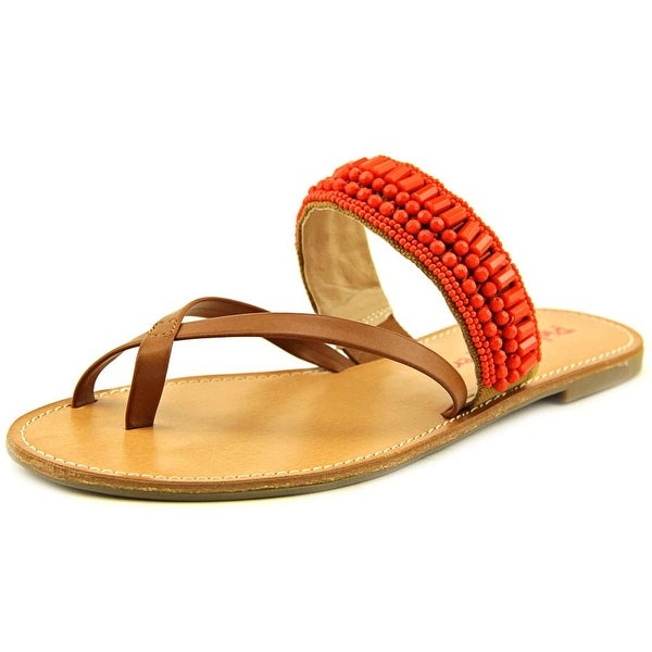 Pink & Pepper Nataley   Open Toe Synthetic  Slides Sandal