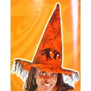 Spider Witch Hat Orange