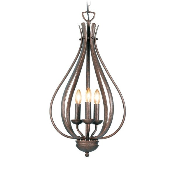 Woodbridge Lighting 24006 Beaconsfield 3 Light Pendant