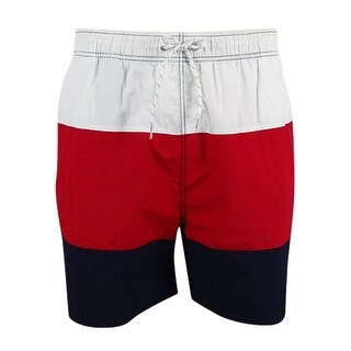 "Nautica Men's Colorblocked 7 1/2"" Swim Trunks"