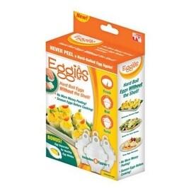 Eggies EG011724 Hard Boiled Egg Cooker, White