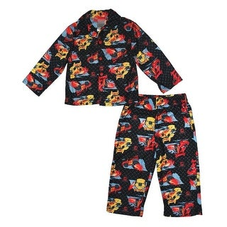 Disney Boys 2T-4T Cars Coat Set - Black
