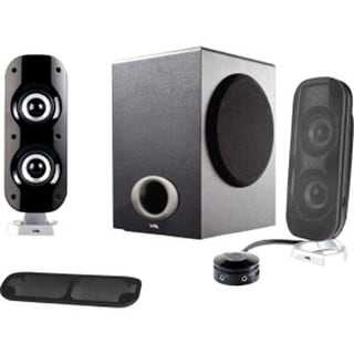 Cyber Acoustics Powerful 2.1 Computer Laptop Speakers With Subwoofer - For Multimedia, Music, Movies, And Gaming (Ca-381