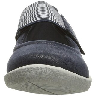 Clarks Womens Sillian Cala Striped Casual Mary Janes - 11 narrow (aa,n)